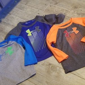Lot of under armour long sleeve tees